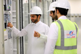 Energizes Ras Abu Aboud 2 sub-station